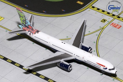 British Airways Boeing 757-200 Animals & Trees G-CPEL Gemini Jets GJBAW1695 scale 1:400