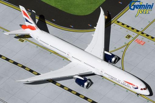 British Airways Boeing 787-10 Dreamliner G-ZBLA Gemini Jets GJBAW1931 scale 1:400