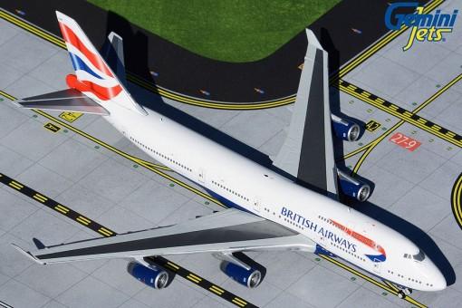 British Airways Boeing 747-400 G-CIVN GJBAW1934 Gemini Jets scale 1:400