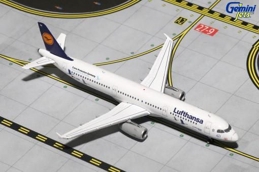 """Lufthansa Airbus A321-200 """"Kranichschutz Deutschland"""" Reg# D-AIRR Gemini Jets GJDLH1619 Scale 1:400"""