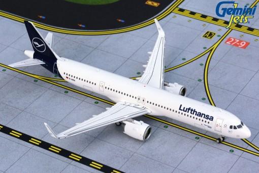 Lufthansa New Livery Airbus A321neo D-AIEA Gemini GJDLH1780 scale 1:400