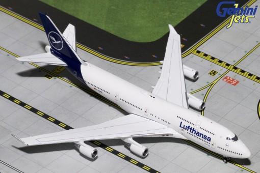 Lufthansa New Livery Boeing 747-400 D-ABVM goodbye Flight Gemini Jets GJDLH1826 1:400