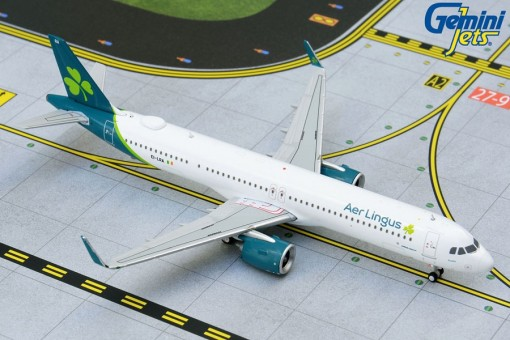 Aer Lingus new livery Airbus A321neo EI-LRA Gemini Jets GJEIN1894 scale 1:400