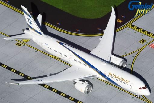 EL AL אל על Boeing 787-9 Jerusalem of Gold 4X-EDM GeminiJets GJELY1904 scale 1:400