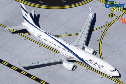 "El Al Israel Airlines Boeing 737-900ER ""Peace"" 4X-EHD Gemini Jets GJELY1956 Scale 1:400"