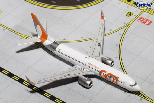 Gol  B737-800 Winglets Reg# PR-GXZ Gemini GJGOL1535 Diecast scale 1:400