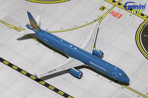 Vietnam Airbus A321-200 Sharklets VN-A398 Gemini GJHVN1596 Scale1:400