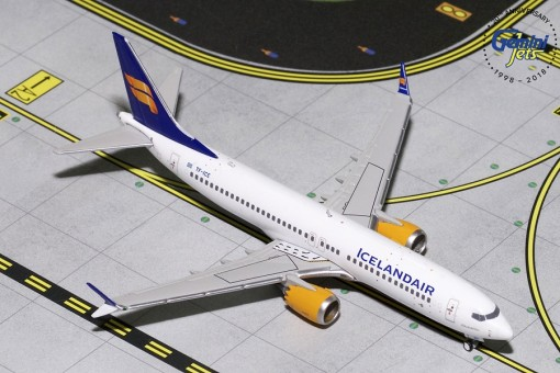 Icelandair Boeing 737 MAX 8 New Livery TF-ICE Gemini Jets GJICE1767 scale 1:400
