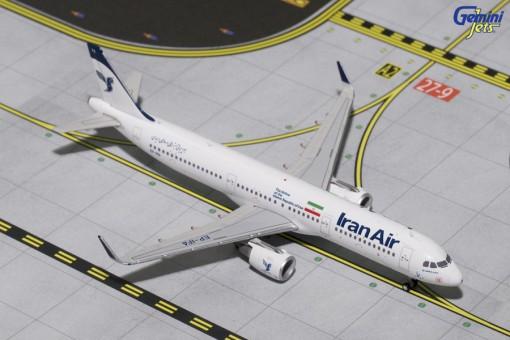 Iran Air Airbus A321-200 Sharklets EP-IFA Gemini Jets GJIRA1646 Scale 1:400