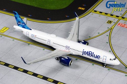 "JetBlue A321neo N2002J ""Ballons"" Gemini GJJBU1881 scale 1:400"