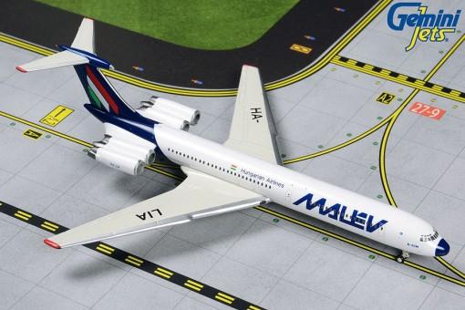 Malev Hungarian Ilyushin  IL-62M HA-LIA Final Livery Gemini Jets GJMAH1805 scale 1:400