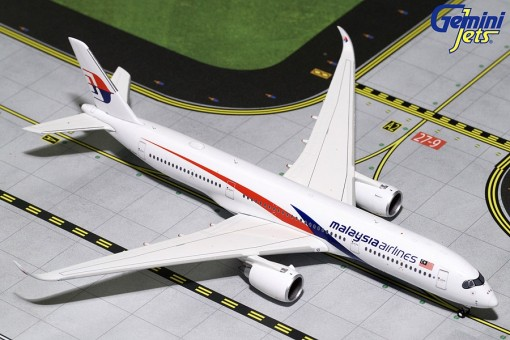 Malaysia Air Airbus A350-900 9M-MAB Gemini Jets GJMAS1742 Scale 1:400