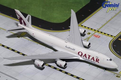 Qatar Cargo Boeing 747-8F Reg.# A7-BGB Geminijets GJQTR1720 Scale 1:400