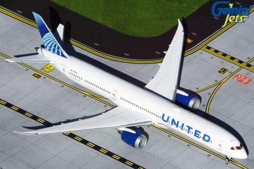 United Airlines New Livery Boeing 787-10 N12010 Dreamliner Gemini GJUAL1808 scale 1:400