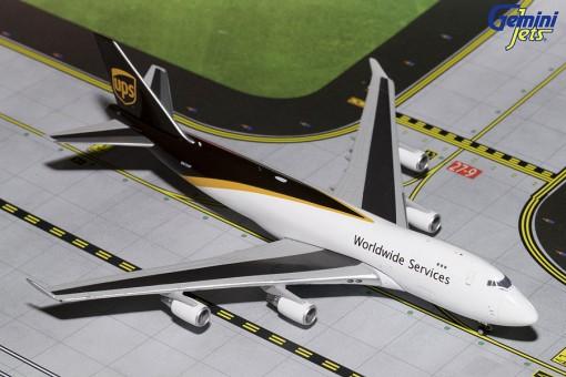 UPS New Livery Boeing 747-400 Reg# N572UP Gemini GJUPS1571 Scale 1:400