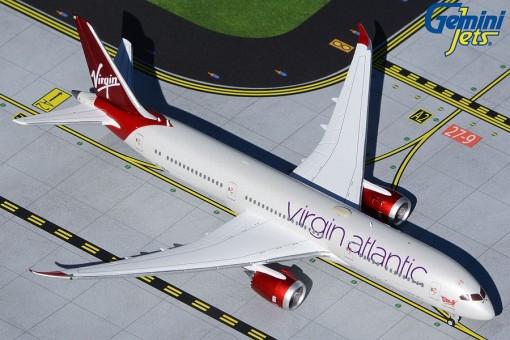 Virgin Atlantic Boeing 787-9 Dreamliner G-VZIG GeminiJets GJVIR1935 scale 1:400