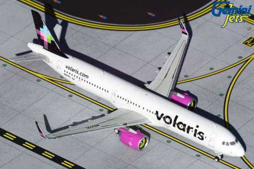 Volaris Airbus A321neo new livery N537VL GJVOI1887 Geminjets Scale 1:400