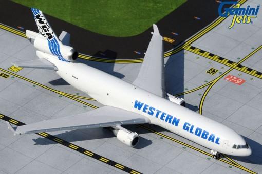 Western Global McDonnell Douglas MD-11F N799JN Gemini Jets GJWGN1930 scale 1:400