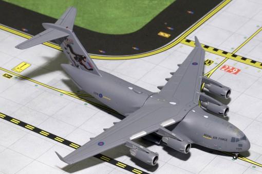 "Royal Air Force (R.A.F.) Boeing C-17 ""99 SQDN Years"" ZZ176 Gemini Macs GMRAF071 Scale 1:400"