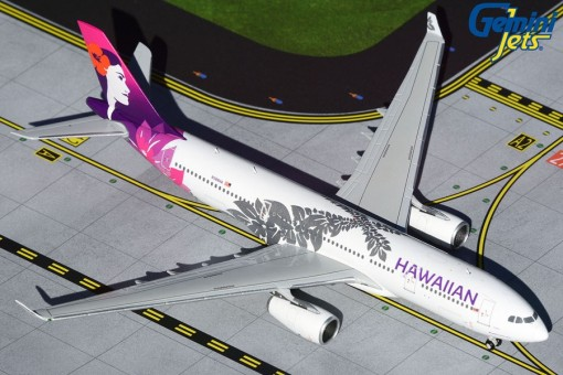 Hawaiian Airlines Airbus A330-300 N388HA Gemini GJHAL1929 scale 1:400
