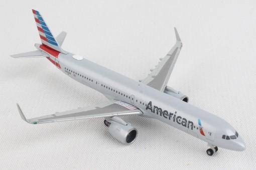 American Airbus A321neo N400AN Herpa Wings 533911 scale 1:500