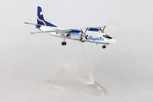 Yakutia Airlines Antonov AN-24RV registration RA-46510 Herpa 558839 scale 1:200