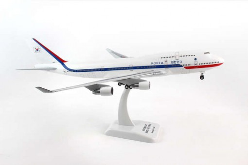 Korean Air Force 747-400 w/gear Reg# 10001 Hogan HG0472G 1:200