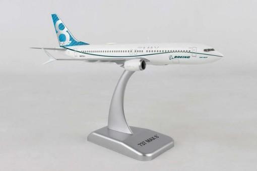 House Boeing 737max8 registration N8703J Test Fligth with gears Hogan HG10970G Scale 1:200
