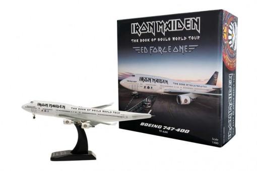 Iron Maiden World Tour Boeing 747-400 Reg# TF-AAK Hogan HG40090 1:400