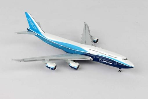Boeing House 747-8 Straight Wings Hogan Die Cast HG40106 Scale 1:400