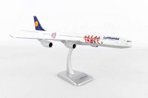 Lufthansa Airbus A340-600 Bayern Munchen FC with Stand Hogan HGLH49 Scale 1:200