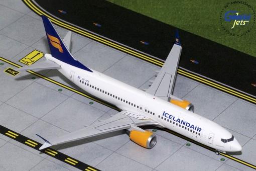 IcelandAir Boeing 737 Max 8 TC-ICE Gemini Jets G2ICE733 scale 1:200