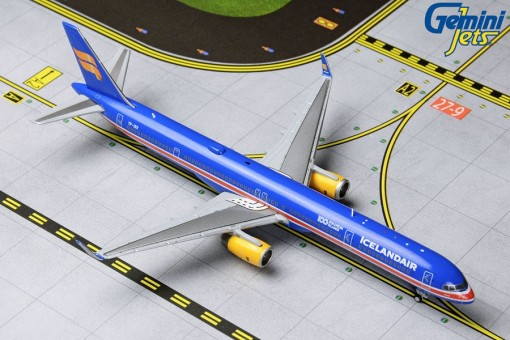 Icelandair Boeing 757-300 winglets TF-ISX 100 Years Independence livery Gemini Jets GJICE1824 scale 1:400