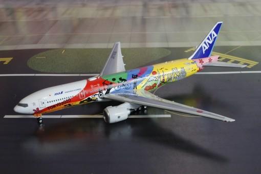 ANA Air Nippon B777-200ER HELLO 2020 JET JA741A Phoenix Models 04191 Scale 1:400