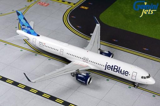 JetBlue Airlines Airbus A321neo N2002J Gemini G2JBU869 Scale 1:200