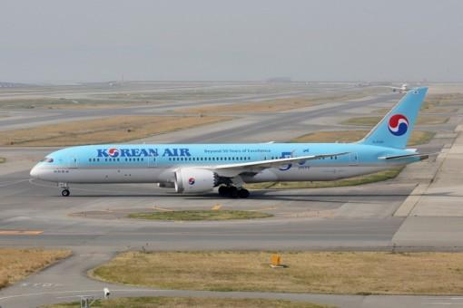 Korean Air Boeing 787-9 Dreamliner HL8082 50 Years 대한항공 Phoenix 04276 scale 1:400