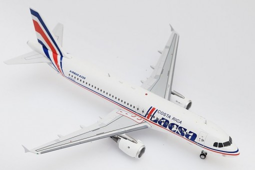Lacsa Costa Rica Airbus A320-200 N481GX with stand InFlight EA320LR1019 scale 1:200