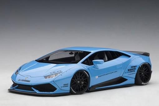 Liberty Walk LB-Works Lamborghini Huracan Metallic Sky Blue 79122 1:18