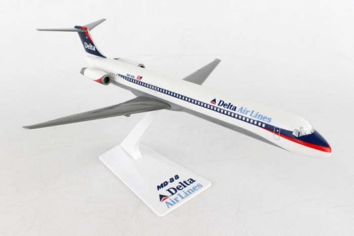 Delta MD-88 old livery LP3021NC Flight Miniatures with stand scale 1:200