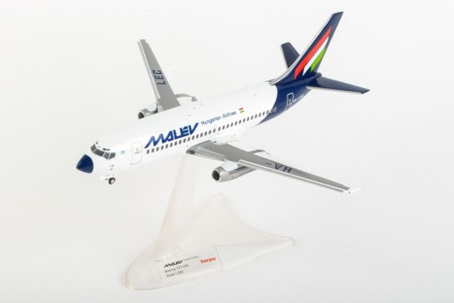 Malev Hungarian Airlines Boeing 737-200 HA-LEC Herpa 559782 scale 1:200
