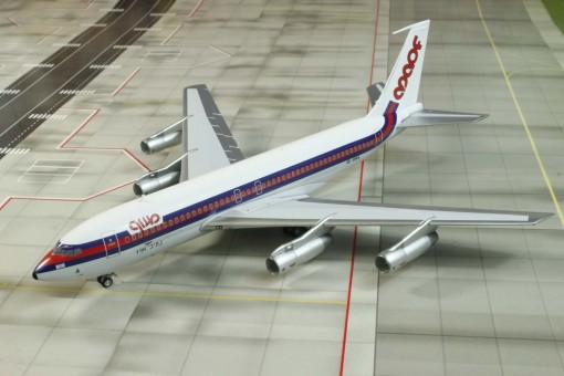 Maof Boeing 720B Reg# 4X-BMA Israel Aeroclassics Die-cast 1:200
