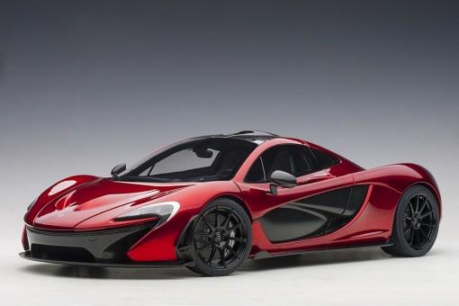 McLaren P1 Red Volcano die-cast model AUTOart 12243 scale 1:12