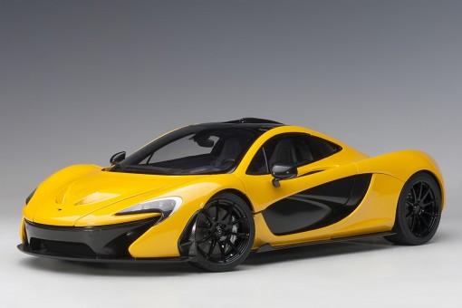McLaren P1 Yellow Volcano die-cast model AUTOart 12242 scale 1-12