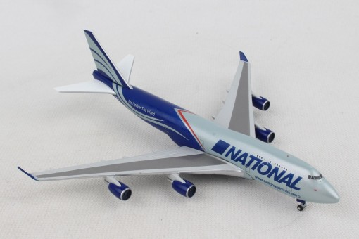 "National Air Cargo Boeing 747-400BCF N952CA ""Ed"" Herpa 518819-001 scale 1:500"