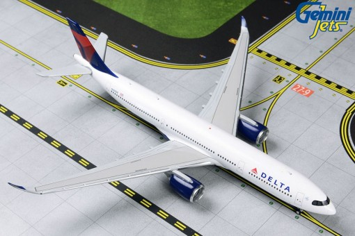 New Mold! Delta Airlines  Airbus A330-900neo N401DZ Gemini GJDAL1837 scale 1:400