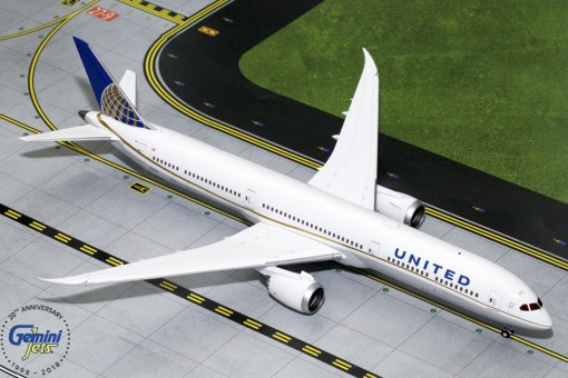New mould! United 787-10 Dreamliner N78791 Gemini 200 G2UAL754 1:200