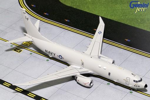 US NAVY Poseidon P-8 (737-800) Raked Wingtips 428 Gemini G2USN622 scale 1:200
