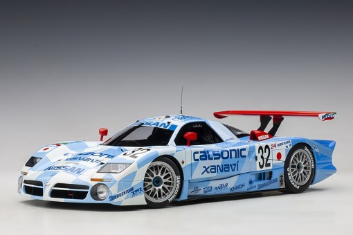 Nissan R390 GT1 Lemans 1998 K.Hoshino,A.Suzuki,M.Kageyama #32 AUTOart 89876 scale 1:18