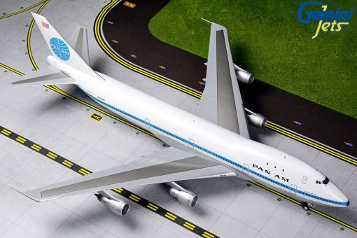 Pan Am Boeing 747-100 Delivery Livery Polished N734PA Gemini G2PAA790 scale 1:200