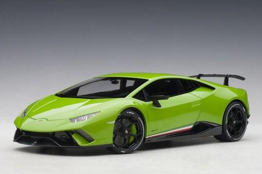 Pearl Green Lamborghini Huracan Performante AUTOart 79154 scale 1:18